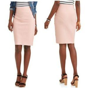 Shinestar Pencil Stretch Skirt